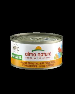 Almo HFC - Kippenboutvlees - Kattenvoer - 12x70g - kattenvoer