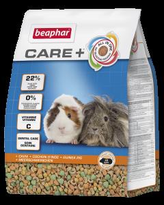 Beaphar Care+ Cavia - Caviavoer - Knaagdiervoer - 1,5kg