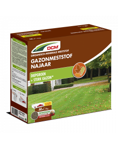 DCM Gazonmeststof Najaar - 3kg - Gazonmest