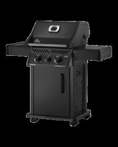 Limited Edition Napoleon Rogue 365 - Mat zwart met zijbranders - Gas barbecue