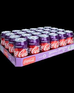 Tray Coca Cola Cherry - 24st - FrisdrankVoordeel - frisdrank kopen
