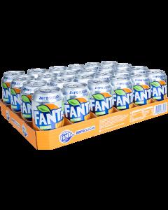 Tray Fanta Orange Zero - 24st - FrisdrankVoordeel - frisdrank kopen